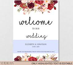 wedding welcome sign template wedding welcome sign template wedding reception greet guests