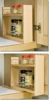 sliding spice rack for cabinet wooden spice racks by tumbleweed woodworks
