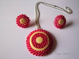 quilling earrings set fah creations free form quilling paper quilling dome set