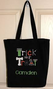 personalized trick or treat bags 15 best black and orange bags images on