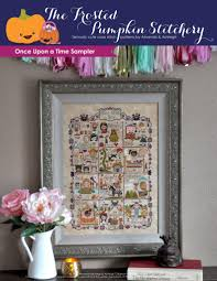 once upon a time sler cross stitch pattern the frosted