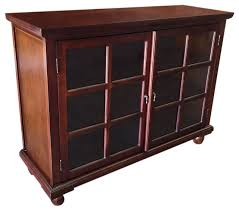 Oak Bookcases With Drawers Half Size Library Console Traditional Bookcases By D Art