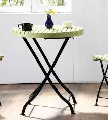 Rent Round Tables by Buy Mexico Folding Round Table In Green Colour On Rent Online