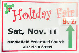 middlefield federated church 2017 holiday fair in midd
