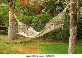 concept charleston hammock swing in garden at one of resort