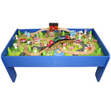 thomas the train wooden table edwone wooden track train with tables 榉 wooden track assembling