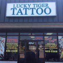 lucky tiger tattoo tattoo shop in jacksonville nc 28546