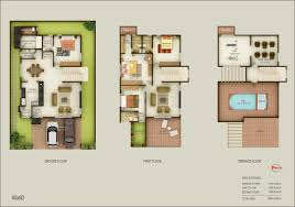 Floor Plan For 30x40 Site by 20 60 House Plan India