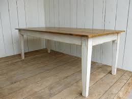 bespoke made kitchen solid pine table reclaimed