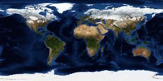 World Map Image Nasa Visible Earth January Blue Marble Next Generation W