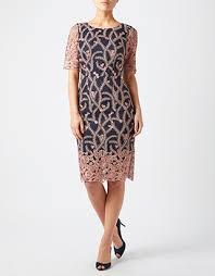 monsoon dress monsoon gladioli lace dress navy 8 2425156108
