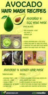 7 nourishing homemade avocado hair mask recipes