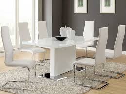 upholstered metal kitchen chairs destroybmx com full size of kitchen chairs modern dining sets in white theme with rectangle upholstered chair