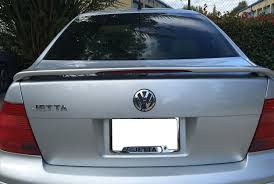 volkswagen light blue volkswagen jetta spoiler light type sl 2836rd
