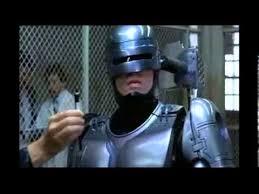 robocop electrocutes himself youtube robocop tribute youtube