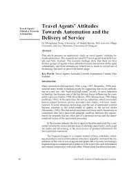 Connecticut become a travel agent images Travel agents 39 attitudes towards automation and the delivery of png