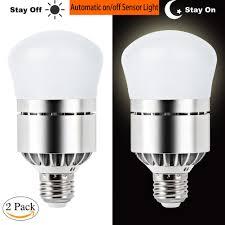 dusk to dawn light sensor dusk till dawn light bulb 100 watt equivalent 12w smart bulb dusk to