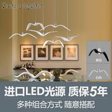Chandelier Advertising Aliexpress Com Buy Nordic Creative Seagull Chandelier Modern