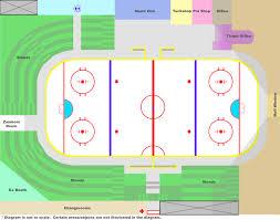 100 grand arena floor plan seating charts firelake arena
