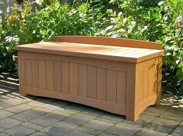 patio storage bench plans rubbermaid patio storage bench