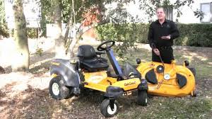 the cub cadet rzt s 46 steering wheel zero turn mower youtube