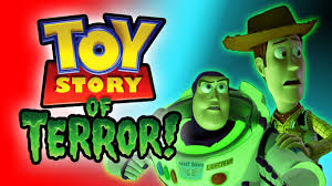 toy story of terror halloween movie tribute kinder surprise