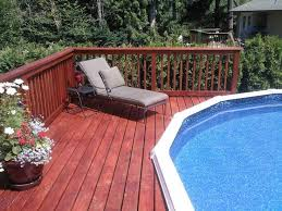 Backyard Above Ground Pool by 242 Best Decked Out Pools Images On Pinterest Ground Pools