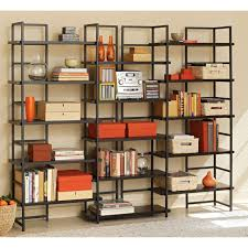 furniture exciting dark wood target book shelves with photo