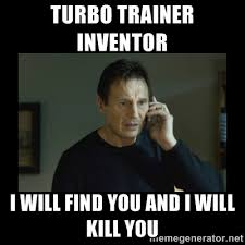 Turbo Meme - i f king hate the damn turbo trainer cpt fit triathlon