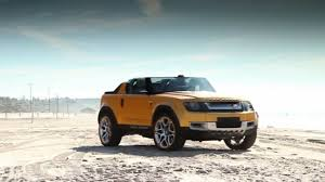 land rover defender concept land rover dc100