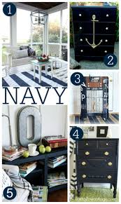 paint makeover decorating ideas with navy fox hollow cottage