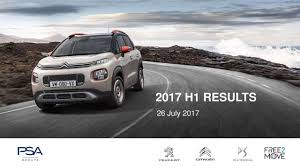 peugeot sa used cars peugeot s a 2017 q2 results earnings call slides peugeot