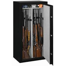 stack on 22 gun steel security cabinet stack on steel security black 22 gun safe w combination lock by