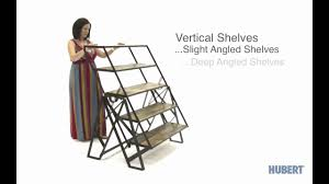 table converts to shelf 3 in 1 display fixture youtube