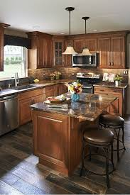 brown kitchen cabinets wolf classic expression hudson heritage brown with glaze 10 x 10 kitchen