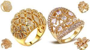 beautiful finger rings images Latest dubai rings design 22k gold beautiful finger rings jpg