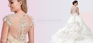 rent a wedding dress gown for rent home