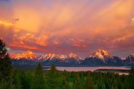 Wyoming scenery images Wallpaper usa grand tetons wyoming nature mountains sky 2592x1728 jpg