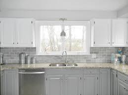 types of backsplashes for kitchen 68 types looking clear glass subway tile backsplash gray