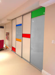 custom room dividers custom sliding doors with back painted glass inserts http www