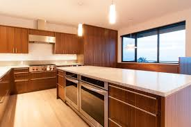 Modern Kitchen Cabinets Handles by Appealing Brown Color Walnut Kitchen Cabinets With Rectangle Shape