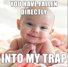 35 very funny baby meme pictures and images