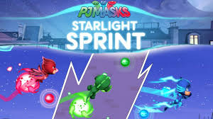 pj masks starlight sprint ipad game disney junior