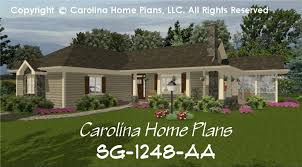 small ranch house plans with porch small country ranch house plan chp sg 1248 aa sq ft affordable