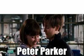 Parker Meme - dopl3r com memes peter parker diciendo piropos plantilla