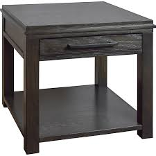 legends furniture end tables legends furniture ty4100 tybee end table in clove finish