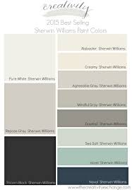 2015 best selling and most popular sherwin williams and benjamin