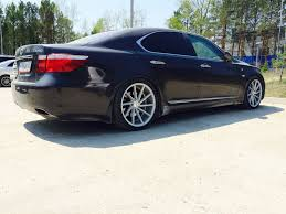lexus ls 460 lowered ls 460 600 wheel u0026 tire information details thread page 6