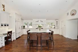 vintage floor kitchen traditional with desk area traditional