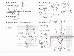 graphing quadratic functions worksheet answers worksheet resume